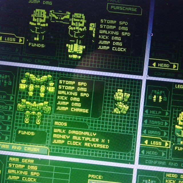 Menus menus menus. I'm actually enjoying making this. #artistsontumblr #papercraft #lowpoly #pixelart #pixels #design #designertoys #figurine #art #robot #toy #sprite #digitalart #artist #gameart #cardboardcutout #paper #customtoys #mecha #interface...