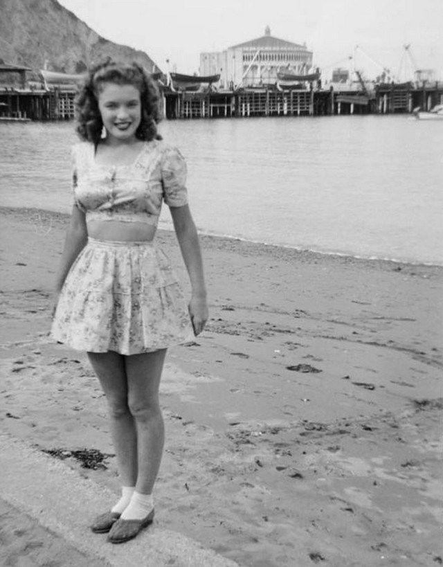 31 fotos raras que mostram a vida de Marilyn Monroe antes da fama - Mega Curioso