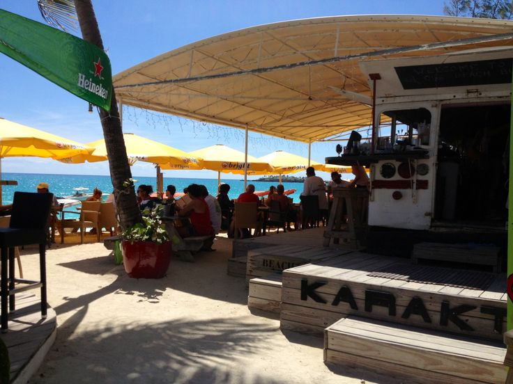 Karakters - St Maarten  BEST food I've ever eaten. Carpaccio on the beach. Best beach bar on the planet if you ask me!