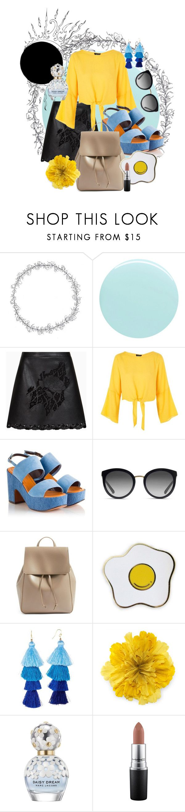 """""""honey"""" by lexie-olives ❤ liked on Polyvore featuring JINsoon, BCBGMAXAZRIA, Topshop, Robert Clergerie, Dolce&Gabbana, Sole Society, Taolei, Gucci, Marc Jacobs and MAC Cosmetics"""