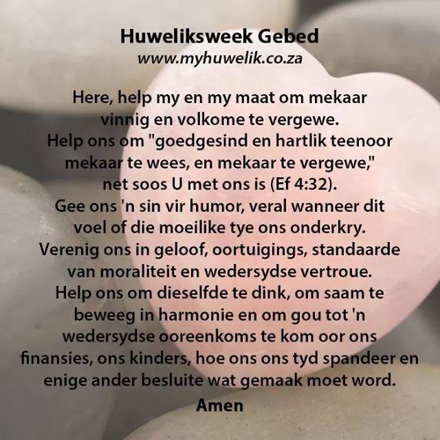 Gebed vir jou huwelik