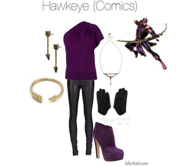 Superhero Fashion Collections-Hawkeye (Comics)