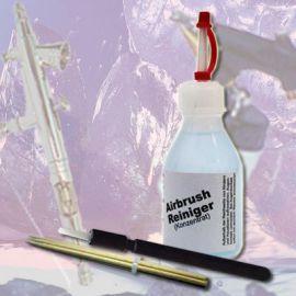 Flüssiger Airbrushreiniger/Airbrush Reinigungskonzentrat 500ml bestens geeignet zum Reinigen der Spritzpistole und der Arbeitsflächen. Unser Reiniger ist dichtungsfreundlich, ungiftig, hautverträglich ohne Amoniak. AR1