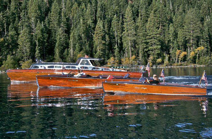 Tahoe is one of those ideal locations for Classic Boating ~ the boating season is short but very intense.: Boating, Chris Craft, Wood Boats, Tahoe Concours, Wooden Boats, Vintage Woodies Boats Cars, Lakes, Lake Tahoe