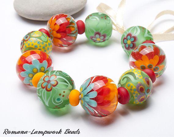 Lampwork Beads by Romana / July 2013