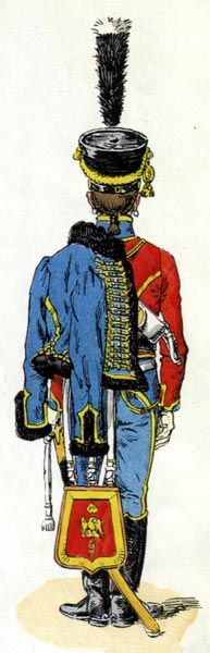 French 9th regt. de Hussards