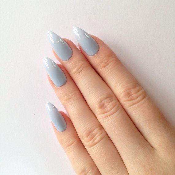 Best 25+ Pastel blue nails ideas on Pinterest   Acrylic ...
