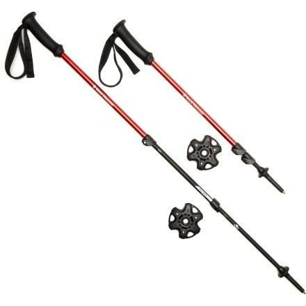 $79.95 best hiking poles I have used! My wife and I both have a pair.