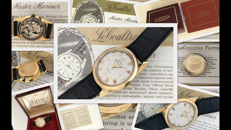 Vintage timepieces - LeCoultre Master Mariner