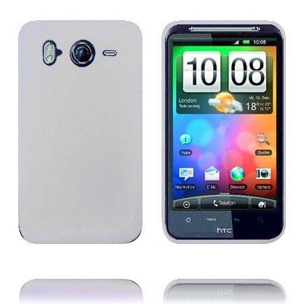 Soft Shell (Hvit) HTC Desire HD Deksel