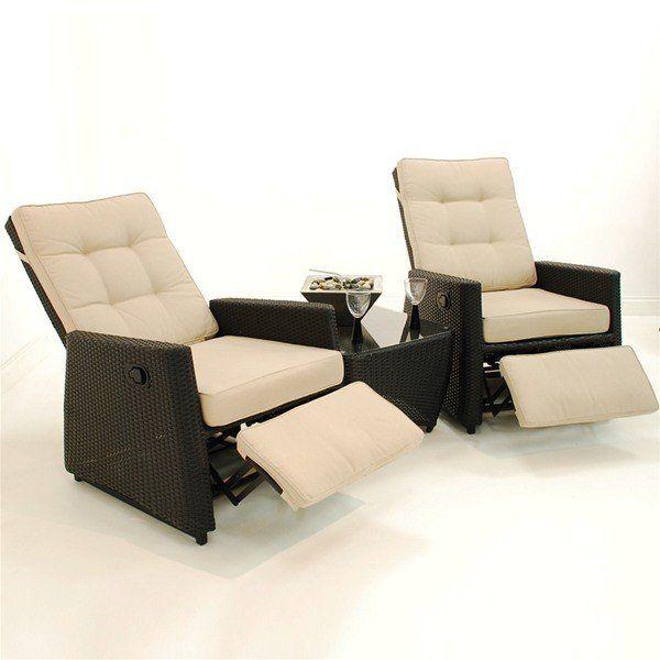 Lauren 3 Piece Woven Seating Set In 2021 Conversation Set Patio Outdoor Swivel Chair Swivel Rocking Chair