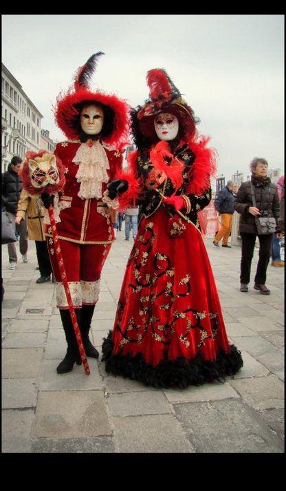 Unique Venetian Carnival Mask Festival