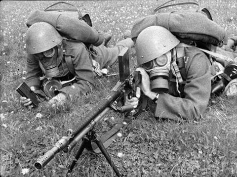 Czech soldiers 1930s. They have a very good army # ...