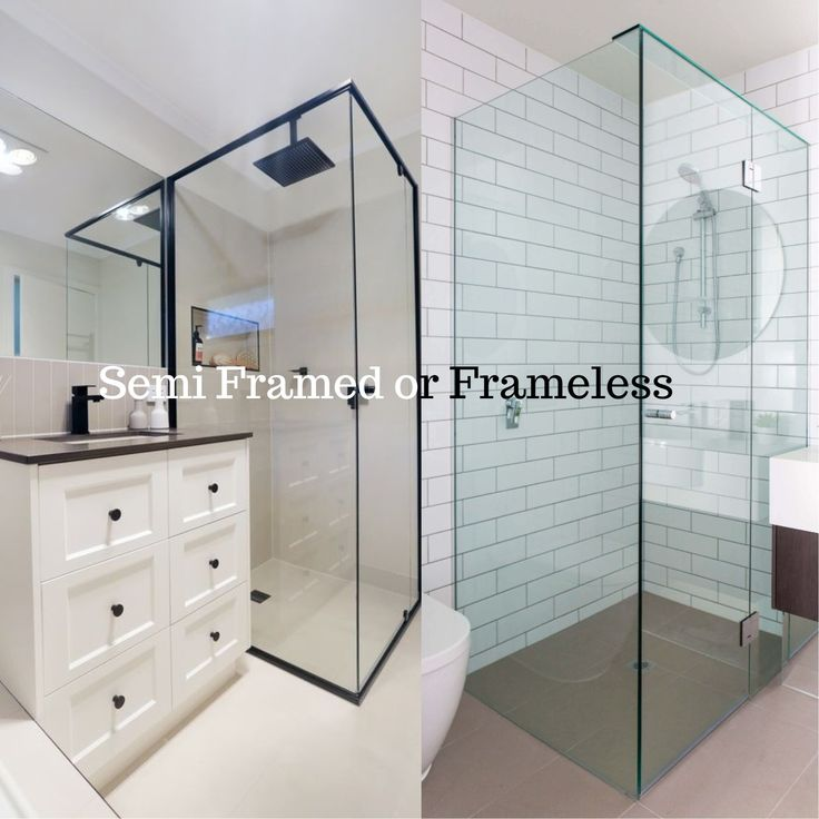 Often there is a high degree of confusion on the difference between the semi-frameless and frameless showers screens. We at on the ball bathrooms will be the heroes you need and break down the difference between the two as well as the pros and cons of each style. Although a shower screen is functional, it can also be a design statement so lets start with the most commonly used shower screen that we use in our bathroom renovations throughout Perth, Western Australia. Check out the rest of the