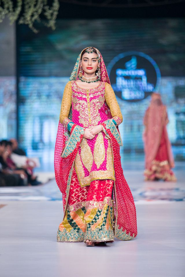 Nomi Ansari Bridal Collection at PBCW 2014 Day 1