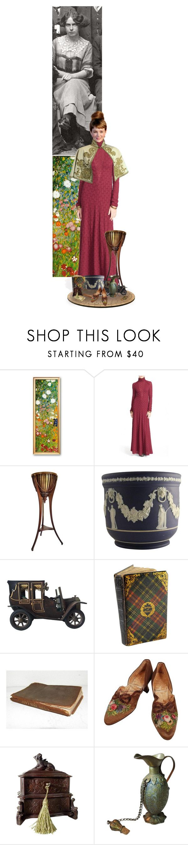 """Toni Wolff"" by sh0shan ❤ liked on Polyvore featuring Free People, Wedgwood, MACBETH and home office"