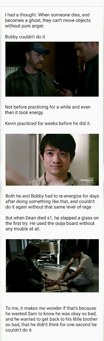 Supernatural fandom. I don't know if that is the reason, but it definitely an interesting point.