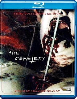 blu-ray and dvd covers: MASSACRE VIDEO BLU-RAYS: THE CEMETERY BLU-RAY, DIA...