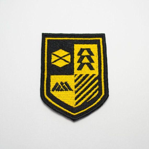 Destiny Tower Coat of Arms Emblem Video Game Crest by Emmabellish