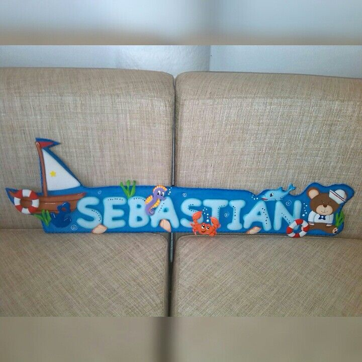 Hermosos letreros para decorar la habitacion de los pequeños de la casa