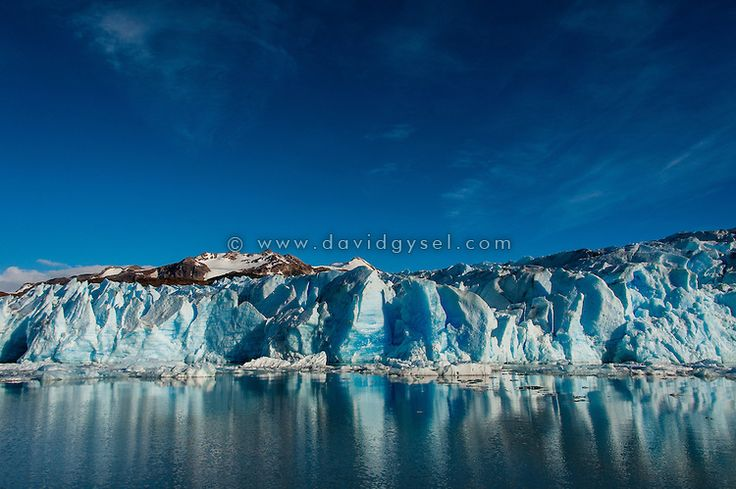 View on the Grey Glacier, Torres del Paine National Park, Chile. Fine Art Print, 20/20 copies available