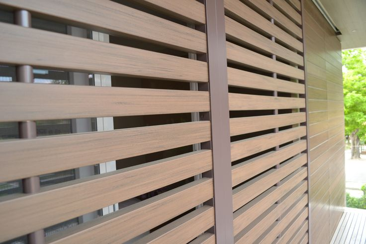 A sliding Brise soleil can block sunlight if it's getting too hot, but once pushed open, will allow not only light in, but can serve as a second door to a porch or terrace.