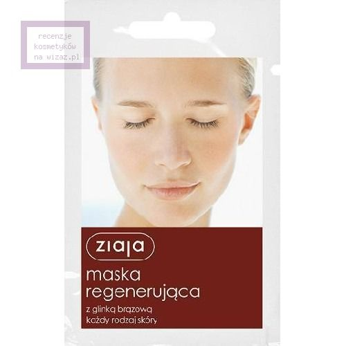 Maska regenerująca z glinką brązową - cena, opinie, recenzja