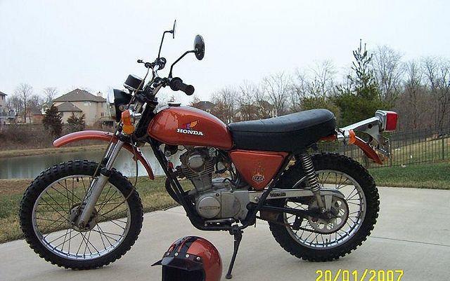 19 best honda xl100 images on pinterest honda bicycles and bicycling rh pinterest com 1974 Honda XL75 1976 Honda 100 Purple