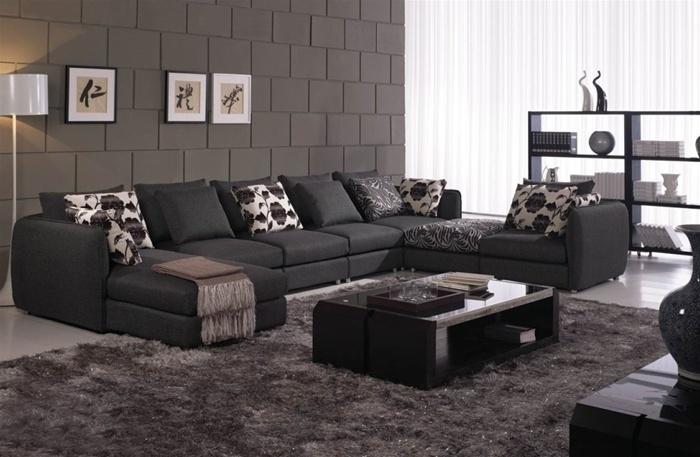 Corwall 7-Pieced Sectional Sofa Set