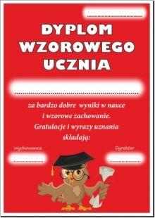 Dyplomy Wzorowego Ucznia