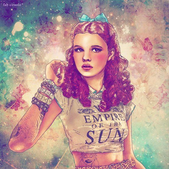 Dorothy Fab Ciarolo Icons as Hipsters
