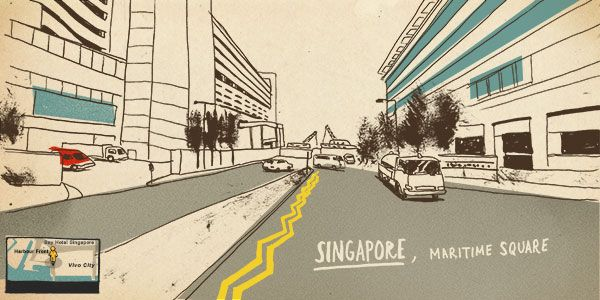 Around the World in 80 Days- with Street View Sketches - http://kck.st/1LLiGuv