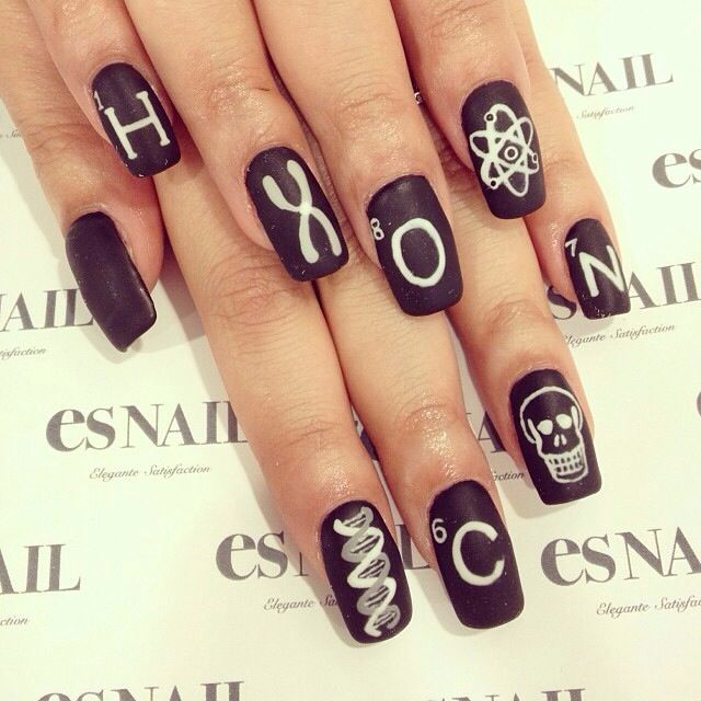 Science Nail Designs: 288 Best Nail Art Ideas Images On Pinterest