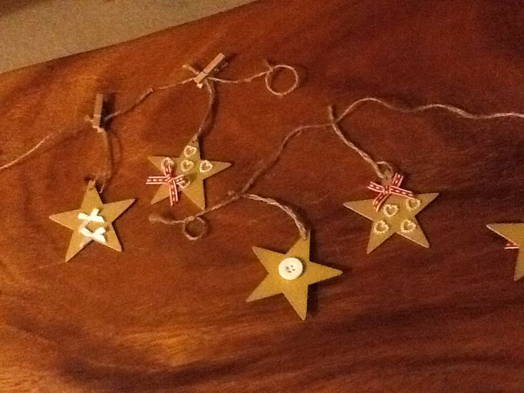 festive bunting, made by me!