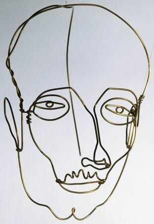 Wire Sculpture, Portrait of a Man by Calder