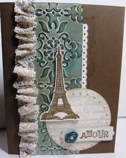 This is a cool technique.Cards Ideas, Cards Galore, Cards 14, Artists Etchings, Etchings French, Patinas Techniques, Faux Patinas, Paper Crafts, Angie Leach