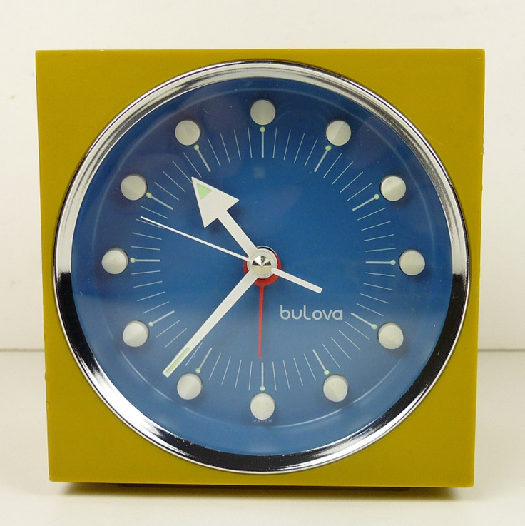 Details About Vintage Ge Alarm Clock 7343k Mid Century