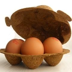 """Superlekker eieren.    Leverancier: """"Het Rondeel is een ronde stal voor scharrelkippen, waar kippen worden gehouden met optimale zorg voor dierwelzijn en milieu. Het Rondeelei is het enige ei in Nederland met het Milieukeur voor Eieren. De eieren zijn ook regionaal verkrijgbaar bij Brandsen in Barneveld (GE) en bij de Berkhoeve in Wintelre (NB). U bent van harte welkom voor een bezoekje. Zo kunt u met eigen ogen zien waarom het Rondeel, haar kippen en haar eieren, (3 sterren…"""