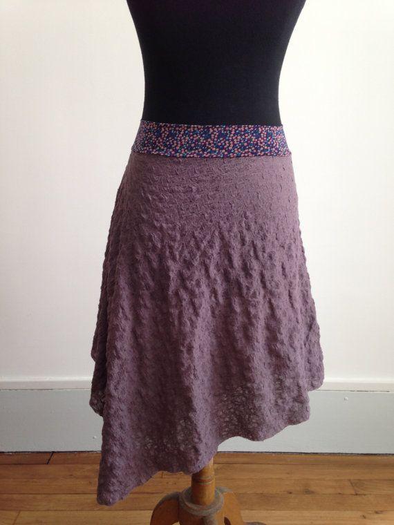 Tango skirt textured purple by BellaTango on Etsy