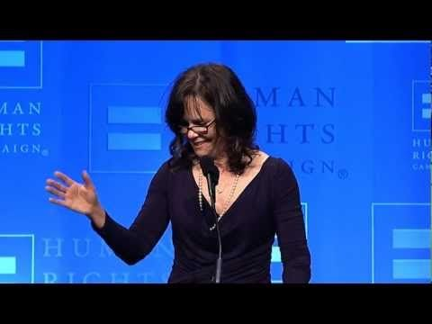 Sally Field Receives HRC's Ally For Equality Award, Delivers Emotional Speech On Gay Son