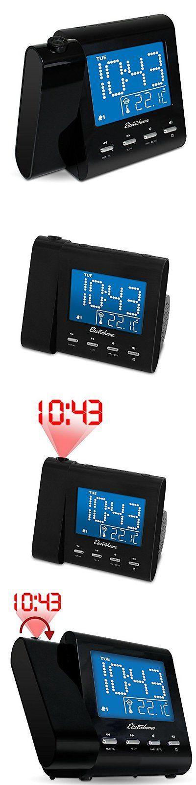 1000 digital wecker pinterest digital clocks and clock radios electrohome eaac601 projection alarm clock with amfm radio fandeluxe Gallery