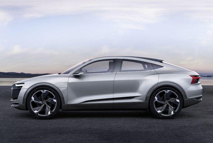 AUDI e-tron sportback electric concept car designboom