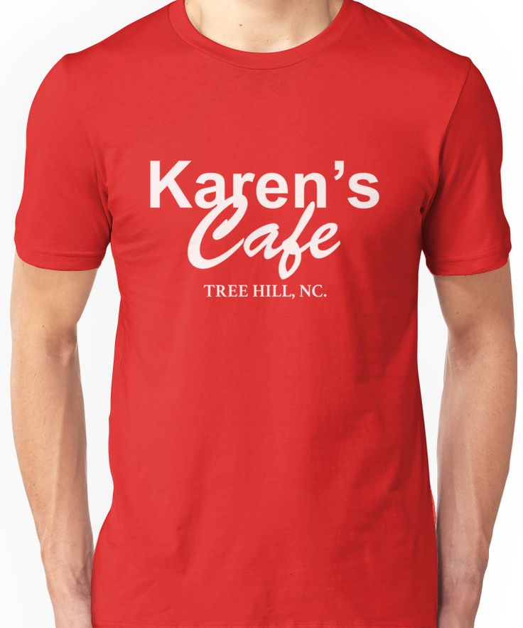 Karen's Cafe shirt - One Tree Hill, Lucas Scott Unisex T-Shirt