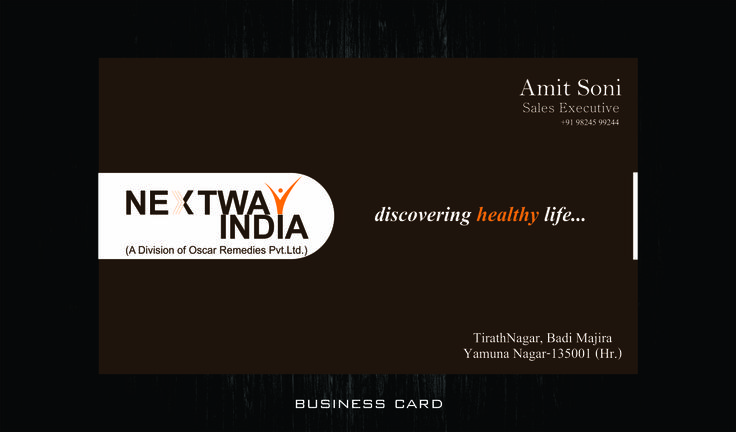 11 best business card design images on pinterest business card next way indiav card reheart Choice Image