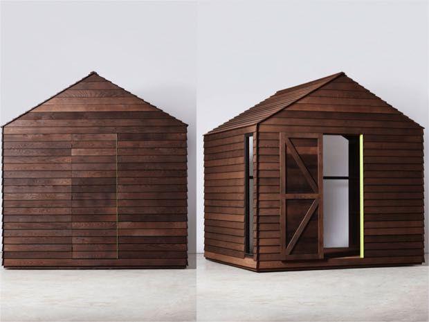 牧草地の陽だまりにそっと佇む切妻屋根の小さな小屋。依頼人はファッションデザイナーのポール・スミス。デザインした ...