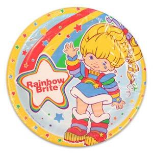 Rainbow Brite Birthday Party Supplies