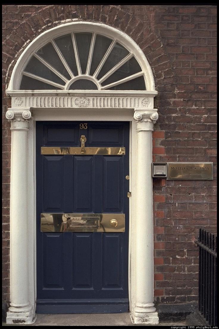 62 Best Ireland Georgian Doors Images On Pinterest
