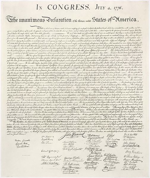 The Declaration of Independence - Image 2 Citation
