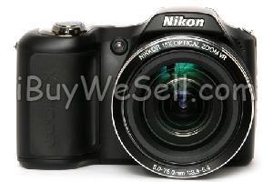Nikon Coolpix L100 Nästan ny dig. kamera från Nikon. Liten o nätt, lätt att ta med. Säljes i originalförpackning, inkl. fotoprogram, kameraväska mm.  To contact the seller click on the picture. For more #cameras check http://www.ibuywesell.com/en_SE/category/Cameras/396/  #Nikon #digitalcamera #usedcamera