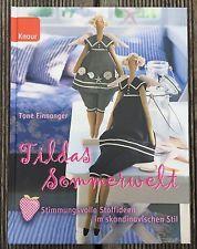 +++ Tildas Frühlingswelt - Skandinavisch - Stoff - Nähen - Handarbeit - Buch ++